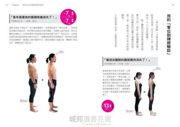 修身顯瘦の零位訓練:讓身體各部位回歸原始位置,長年累積的深層負擔就會消...