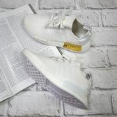 【現貨】adidas NMD_R1 BOOST底 舒適 女鞋 慢跑 休閒 柔軟 支撐 舒適 白金 EG6703
