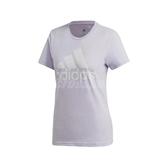 adidas 短袖T恤 MH BOS Tee 紫 白 女款 短T 運動休閒 【PUMP306】 FQ3240