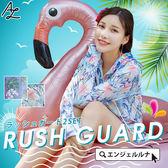 比基尼泳裝-日本品牌AngelLuna 日本直送 印花兩件式水母衣外套+短褲溫泉沙灘必備