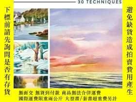 二手書博民逛書店The罕見Artist s Guide To Painting Water In Watercolor-水彩畫水彩