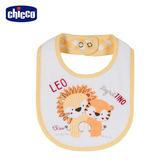 chicco-動物之森-毛巾布圍兜-獅子