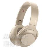 【曜德★送收納袋】SONY WH-H900N 淺金 降噪 觸控 無線藍芽 耳罩式耳機