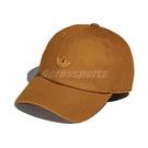 adidas 帽子 AC CONT 男女款 駝色 刺繡 愛迪達 三葉草 老帽 可調 棒球帽【ACS】 HG8328