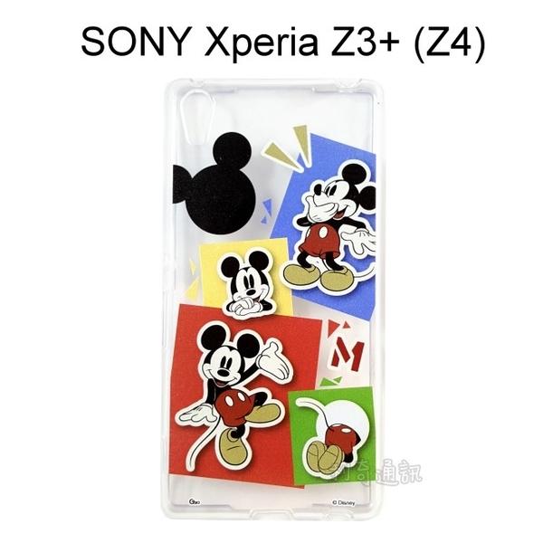 迪士尼透明軟殼 [人物] 米奇 SONY Xperia Z3+ / Z3 Plus (Z4)【Disney正版授權】
