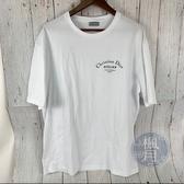 BRAND楓月 Christian Dior 迪奧 Atelier 黑LOGO 白TEE 短袖 上衣 XL