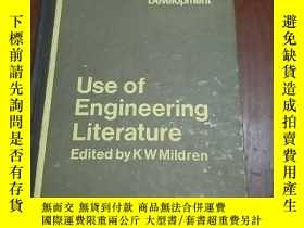 二手書博民逛書店USE罕見OF ENGINEERING LITERATURE (