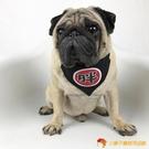 狗狗三角巾寵物圍巾圍脖口水巾搞笑飾品方巾領巾貓用品【小獅子】