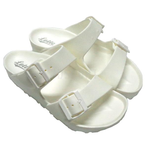 Lotto 樂得 EVA 男女鞋 經典勃肯拖鞋 白色 輕量 防水 台灣製 AIRWALK Birkenstock Arizona LT6AWS3809