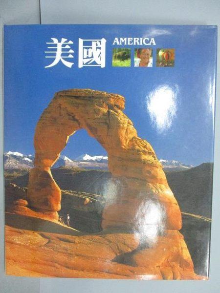 【書寶二手書T1/地理_PNL】美國America_1997年