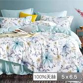 【貝兒居家寢飾生活館】頂級100%天絲鋪棉涼被(思白 150×195cm)