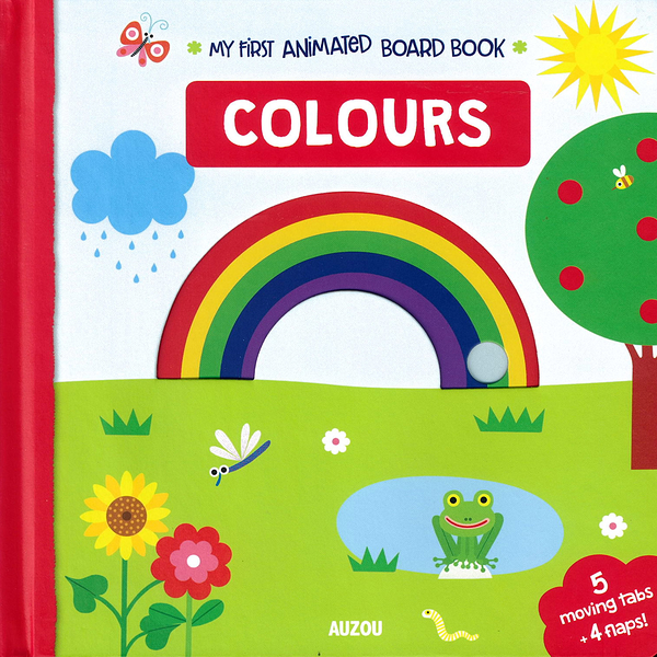 My First Animated Board Book:Colours 我的第一本推拉小書:顏色篇