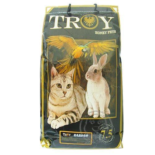 【 ZOO寵物樂園 HONEY PETS《TROY》備長炭活性碳松木砂-7.5kg*1包