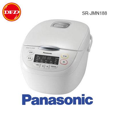 PANASONIC 國際牌 SR-JMN188 日本製 微電腦電子鍋 13項炊煮行程 厚釜鍋 10人份 公司貨