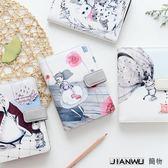 韓版小清新可愛彩頁方格賬帳貼紙套裝