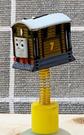 【震撼精品百貨】湯瑪士小火車_Thomas & Friends~湯瑪士吸盤擺飾-火車7號#78355