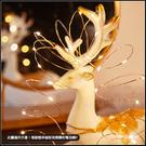 大量現貨 LED銅線燈串 (有開關 附鈕扣電池) 3米 聖誕燈串 佈置氛圍燈 銅絲燈 瓶塞燈 花束裝飾燈