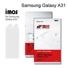 【iMos】3SAS系列保護貼 Samsung Galaxy A31 (6.4吋) 超潑水、防污、抗刮