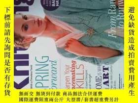 二手書博民逛書店Creative罕見Knitting (Magazine) SPRING 2013 毛衣編織手工DIYY146