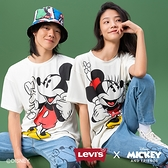 Levis X Disney 合作系列 女款 短袖情侶T恤 / 寬鬆休閒版型 / 米妮印花