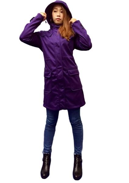 【德國戶外趣】專業禦寒長版外套(超模暖殼甲)-電電購
