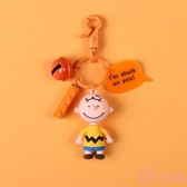 查理公仔汽車鑰匙扣女韓國可愛個性創意卡通diy鑰匙鏈環包包掛件