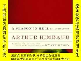 二手書博民逛書店A罕見Season In Hell & Illuminations (modern Library Classic