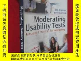 二手書博民逛書店Moderating罕見Usability Tests: Principles and Practices for