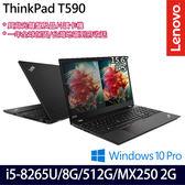 【ThinkPad】T590 20N4CTO2WW 15.6吋i5-8265U四核MX250 2G獨顯商務筆電(一年保固)