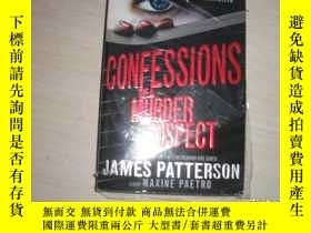 二手書博民逛書店CONFESSIONS罕見OF A MURDER SUSPECT【233】Y10970 JAMES PATTE