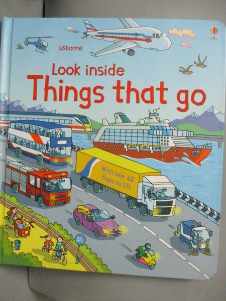 【書寶二手書T4/少年童書_WDW】Look inside things that go_Rob Lloyd Jones,Stefano Tognetti