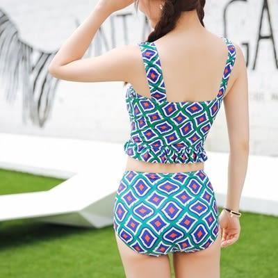 泳衣(三件式)-比基尼-韓版清新亮麗時尚女泳裝-73mb40[時尚巴黎]