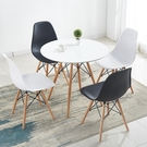 北歐ins風椅子化妝椅梳妝塑料餐椅家用現代簡約靠背椅  ATF  魔法鞋櫃