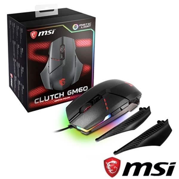 【南紡購物中心】限量促銷 MSI Clutch GM60 Gaming 電競滑鼠