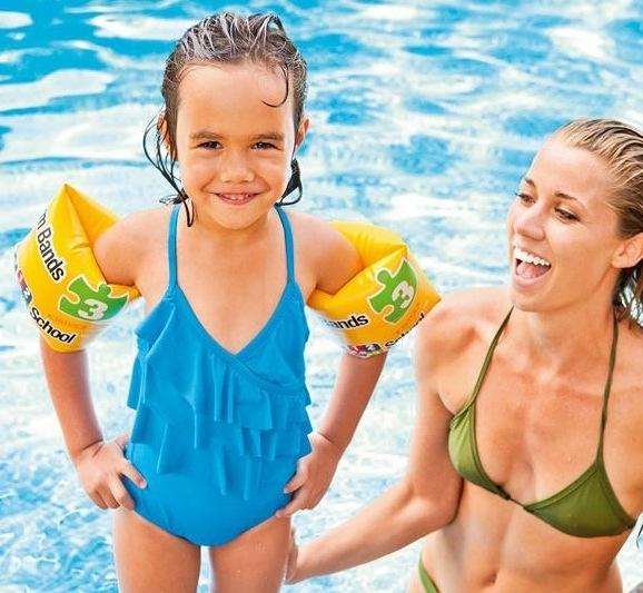 [衣林時尚] 新款INTEX Pool School 耐用彩印手臂圈 20x15cm 3-6歲 56643