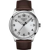 TISSOT 天梭 紳士XL經典石英手錶-41mm T1164101603700