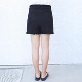 新款中大尺碼女裝短褲胖mm寬鬆夏季彈力牛仔褲200斤高腰寬短褲【616】