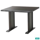 ◎實木餐桌 SAZANAMI 90 DBR TW 橡膠木 NITORI宜得利家居