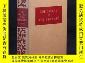 二手書博民逛書店英文原版古董書罕見THE BALLAD of THE SAD C