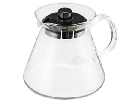 金時代書香咖啡 Kalita 手沖咖啡耐熱玻璃壺 500ml #31255