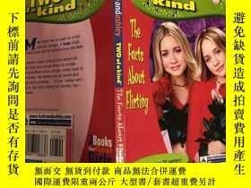 二手書博民逛書店two罕見of a kind the facts about flirting 關於調情的兩個事實Y20039