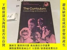 二手書博民逛書店英文原版:The罕見Curriculum Context Des