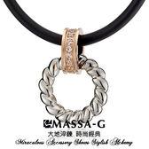 貝兒朵朵  多那滋時光  搭配合金鍺鈦項圈-女-MASSA-G X