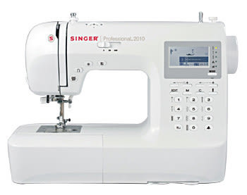 勝家2010型縫紉機  超超值大回饋   加贈勝家車線全系列50顆一組