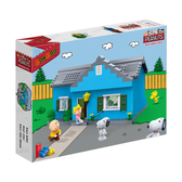 《 BanBao 邦寶積木 》Snoopy 史奴比系列 - 查理的家 / JOYBUS玩具百貨