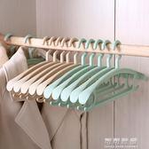 衣架家用寬肩無痕多功能防滑衣撐撐子衣掛晾衣服架掛衣架子 可可鞋櫃