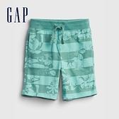 Gap男幼童 布萊納系列 口袋印花休閒短褲 542324-恐龍印花