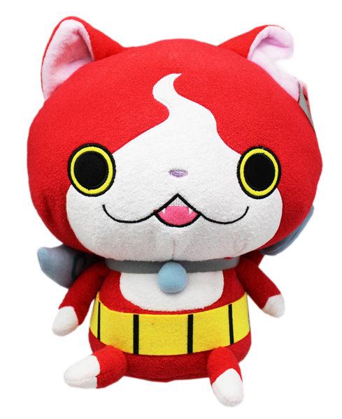 【卡漫城】 吉胖貓 娃娃 23cm ㊣版 妖怪手錶 吉胖喵 玩偶 絨毛 布偶 裝飾 擺飾 貓咪 Cat YOKAI