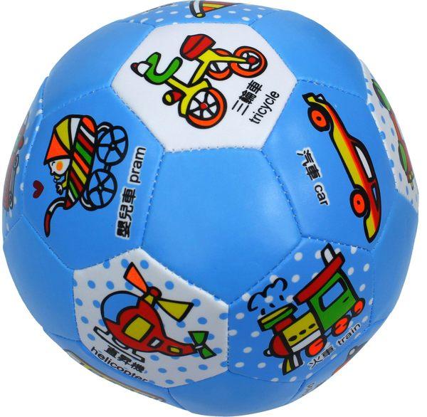 義大文具~成功 4116 兒童安全足球(6吋) /中英文標示 看圖學習 交通工具主題 動物主題 水果主題