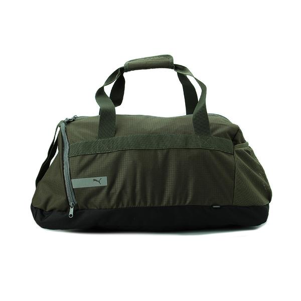 PUMA VIBE SPORTS BAG 旅行袋 墨綠 075494-11